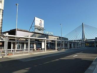 Aomori Station - Aomori Station entrance in August 2011