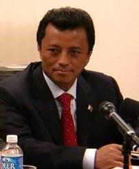 President Marc Ravalomanana of Madagascar
