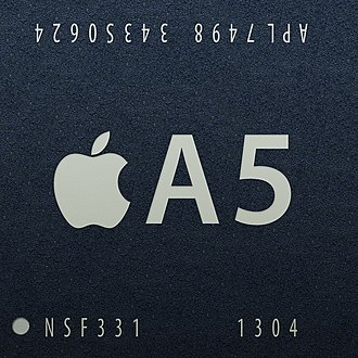 Apple A5 - The single-core 32 nm A5r3 S5L8947 introduced in March 2013.