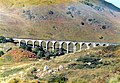 Approaching the Glenfinnan Viaduct by Rail - geograph.org.uk - 659934.jpg