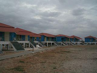 Cottages at Suryalanka Beach