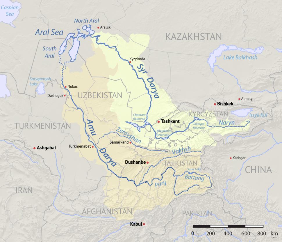 Aral Sea watershed