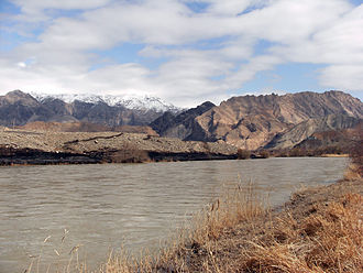 Azerbaijan (Iran) - Aras River near Joulfa