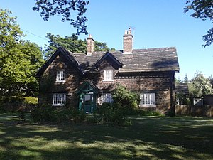 Listed buildings in Sheffield S2 - Image: Arbourthorne Cottages (North East)
