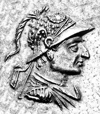 Archebius - Portrait of Archebios on one of his tetradrachms