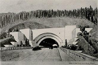 Yerba Buena Tunnel - Image: Architect and engineer (1933) (14595236739)