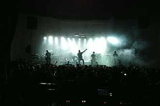Architects (British band) - Architects performing in Bogotá, Colombia at the Teatro Metro Bogota on 27 April 2012