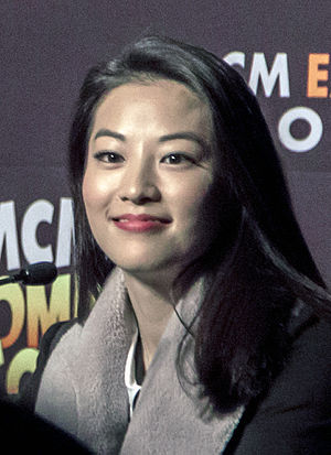 Arden Cho - Cho at a 2014 Teen Wolf panel in London