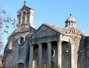 Argilliers - The chapel of the Château de Castille in Argilliers