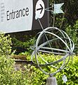 Armillary dial at the entrance to Royal Observatory, Greenwich 6423.JPG