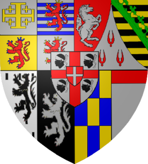 Victor Amadeus III of Sardinia - Arms of Charles Felix, King of Sardinia