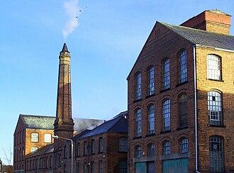 Ilkeston - Image: Armstrong's Mill, Ilkeston, Derbyshire