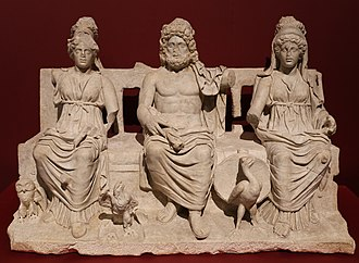 Capitoline Triad - Capitoline Triad – Museum of Guidonia