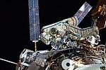 Artemyev and Skvortsov ISS Spacewalk (28447806343).jpg