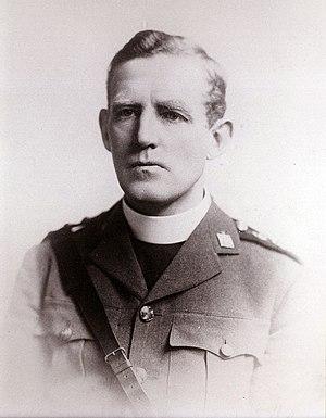 Arthur Karney - Arthur Karney, as military chaplain, 1918