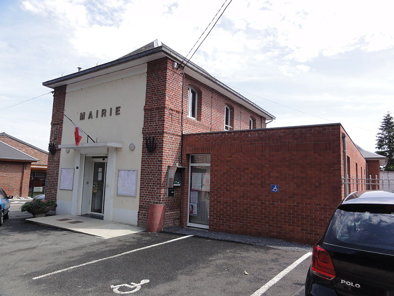 Artres (Nord,Fr) mairie