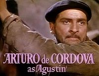 Arturo de Córdova in For Whom the Bell Tolls trailer.jpg