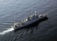 As-Sadiq class missile boat Oqbah (525) of the Royal Saudi Navy.jpg