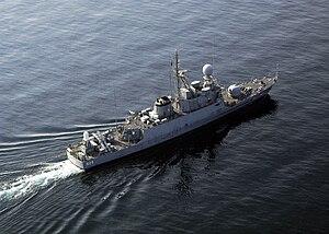 Royal Saudi Navy - Missile patrol boat Oqbah (525)