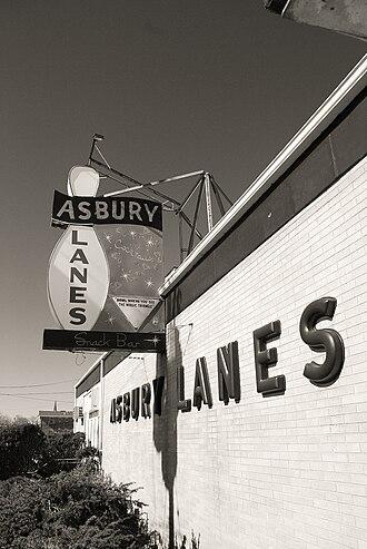 Asbury Lanes - Image: Asbury lanes ap