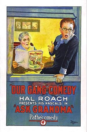 Ask Grandma - Image: Ask Grandma Film Poster