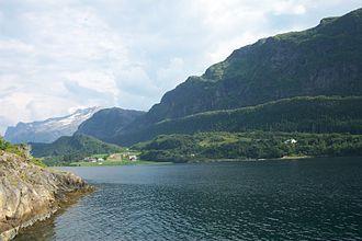 Førde Fjord - Image: Askvoll gjelsvik