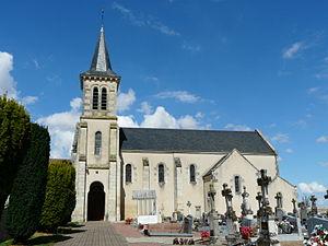 Assais-les-Jumeaux - The church in Assais-les-Jumeaux
