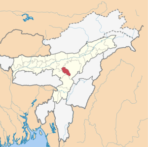 Assam district locator map Hojai.png