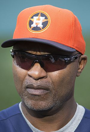 Dave Clark (baseball) - Clark with the Houston Astros