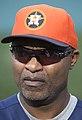 Astros coach Dave Clark 2013.jpg