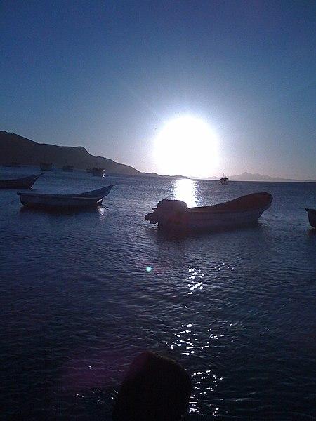 File:Atardecer en Bahia de Juan Griego - Margarita - panoramio - rolandoblanco.jpg