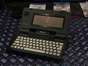 Atari Portfolio - Image: Atari Portfolio Rama