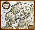 Atlas Van der Hagen-KW1049B10 022-Tabula exactissima Regnorum SUECIAE et NORVEGIAE nec non MARIS UNIVERSI ORIENTALIS, Terrarumq- adjacentium summo studio ab.jpeg