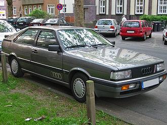 Audi Coupé (B2) - Facelifted Coupé GT