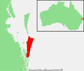 North Stradbroke Island Island that lies within Moreton Bay in the Australian state of Queensland