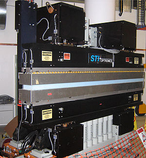 Undulator - A multipole wiggler, as used in the storage ring at the Australian Synchrotron to generate synchrotron radiation