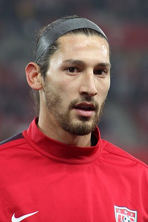 Omar Gonzalez - Gonzalez with the United States in 2013