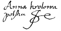 Autograph of Anna Jagielonka.PNG