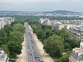Avenue Foch from the Arc de Triomphe, Paris 19 May 2013.jpg