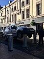 Avis van stuck on automatic bollards, Cardiff, October 2018 (2).jpg