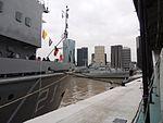Aviso ARA Puerto Argentino, submarino ARA San Juan y destructores ARA Almirante Brown y ARA Sarandi (33834069154).jpg