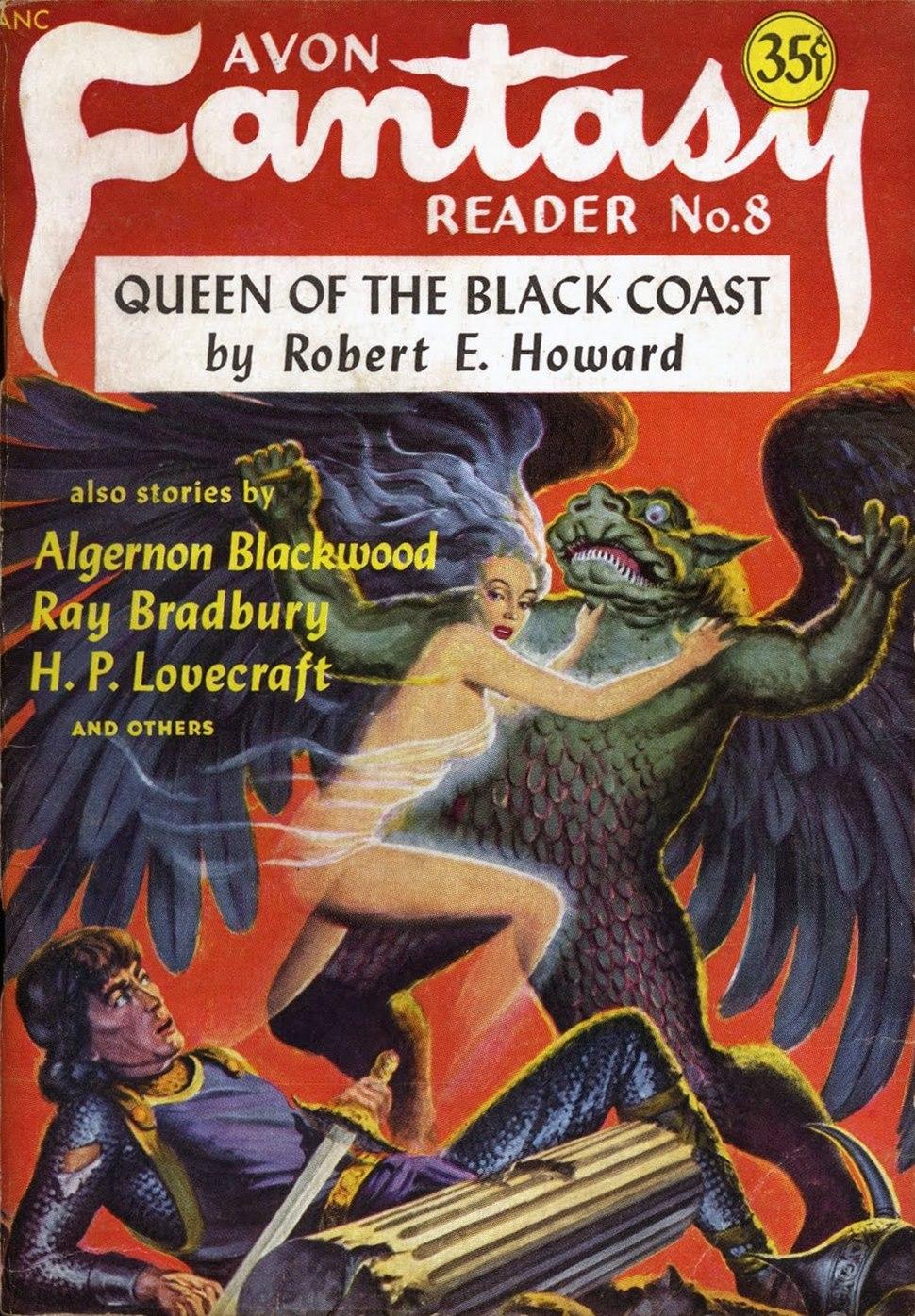 Avon Fantasy Reader (1948-11-23) cover