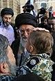 Ayatollah Khamenei in Funeral of Mohsen Hojaji in Tehran 015.jpg