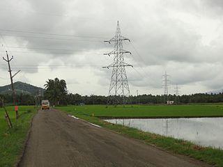 Aygudi Town in Tamil Nadu, India