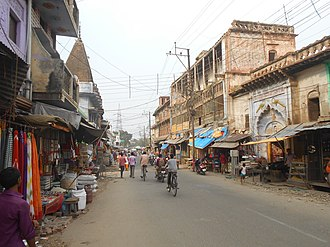 Ayodhya - A Street at Ayodhya