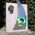 Ayrton Senna monument in Catalonia Circuit.jpg