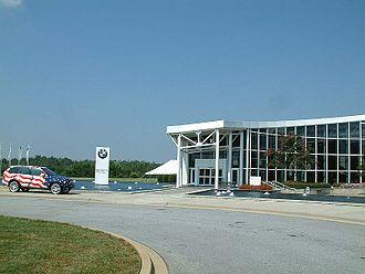 BMW in the United States - BMW Zentrum Spartanburg (visitor center)