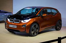 On the BMW i3 Concept Coupe