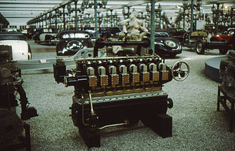 Intermediate good - An automobile engine is an example of an intermediate good, and is used in the production of the final good, the assembled automobile.