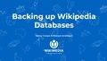 Backing up Wikipedia Databases.pdf